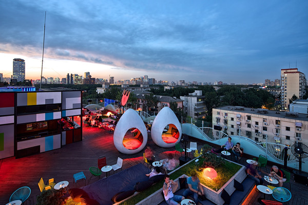 Top Three Rooftop bars in Beijing