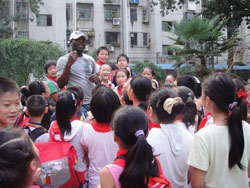 Day in the life: Teaching English in a primary school in China.